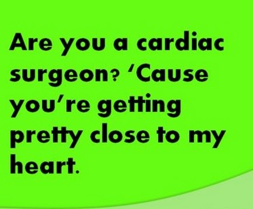 Nerdy chat up lines