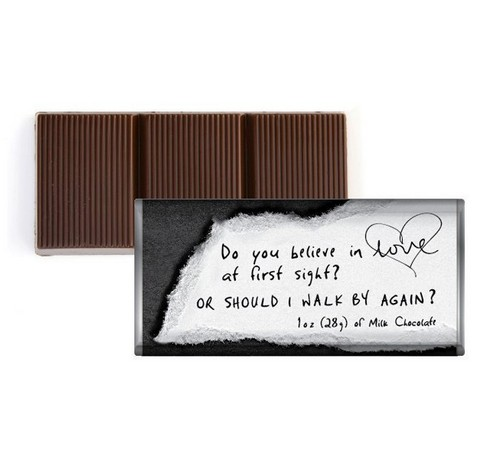 Chocolate pick up lines