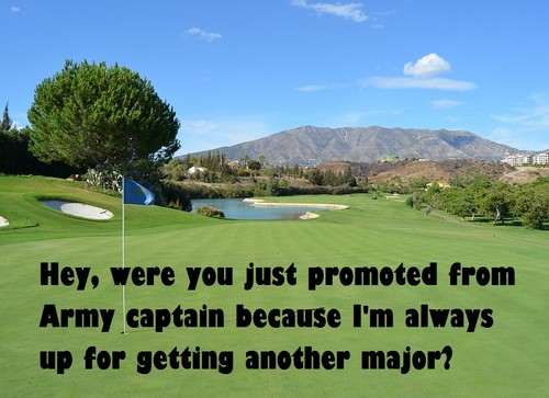 Golf pick up lines to use on guys
